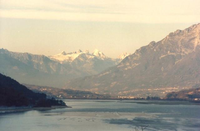 Os Alpes Italianos.