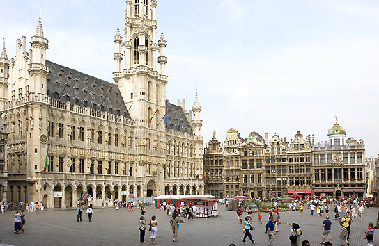 A Grand Place de Bruxelas