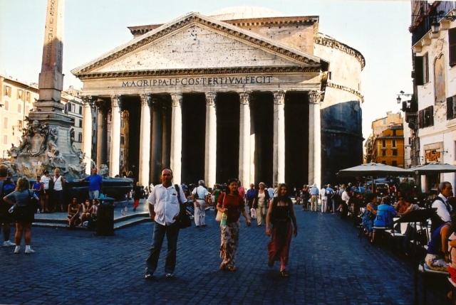 O Panteão de Agripa.