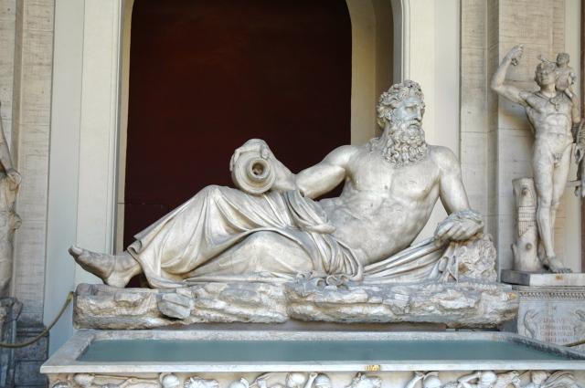 Escultura no Museu do Vaticano