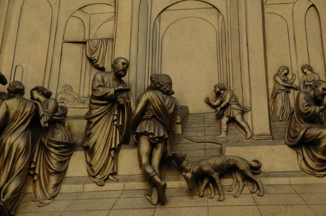 Detalhe do Portão de Ghiberti