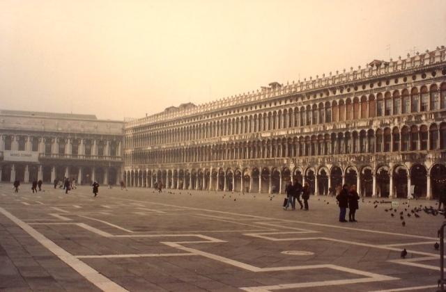 A Praça São Marcos em Veneza