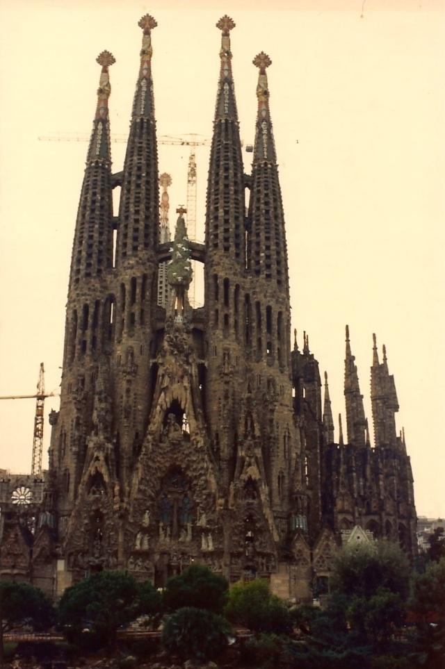 A Igreja da Sagrada Família de Barcelona