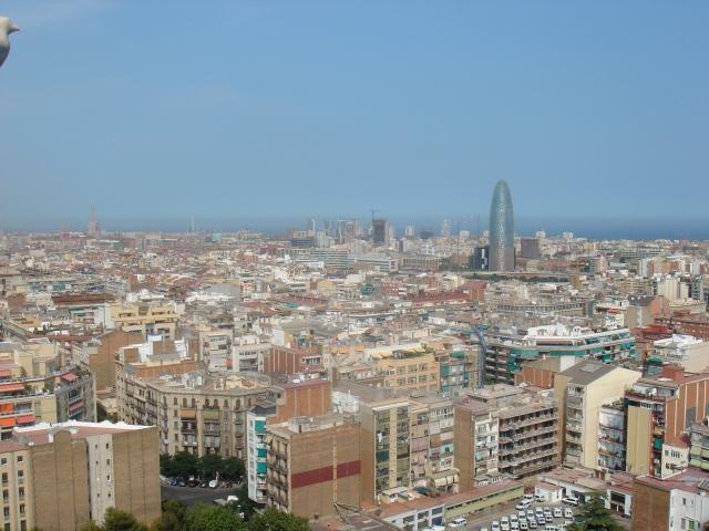 Barcelona hoje. Moderna e vibrante.