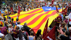 A bandeira da Catalúnia