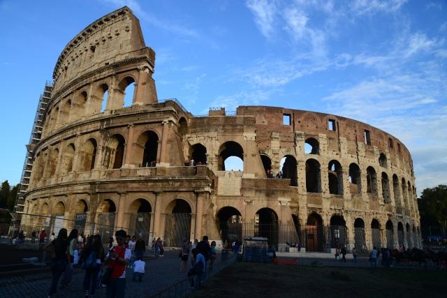 O espetacular Coliseu de Roma