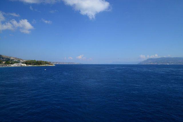 O Estreito de Messina