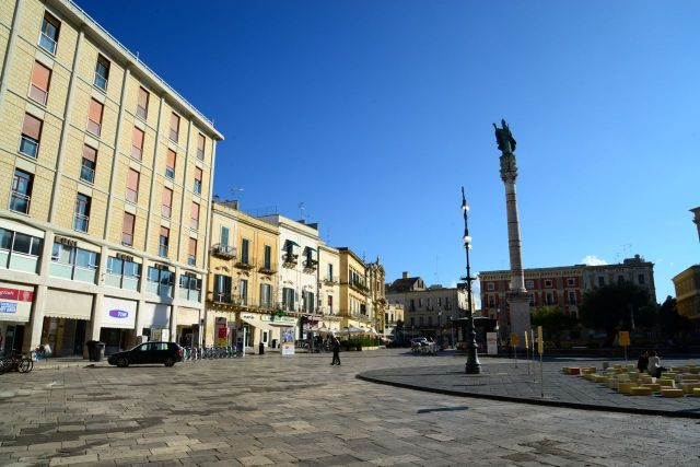 A Piazza Sant'Oronzo