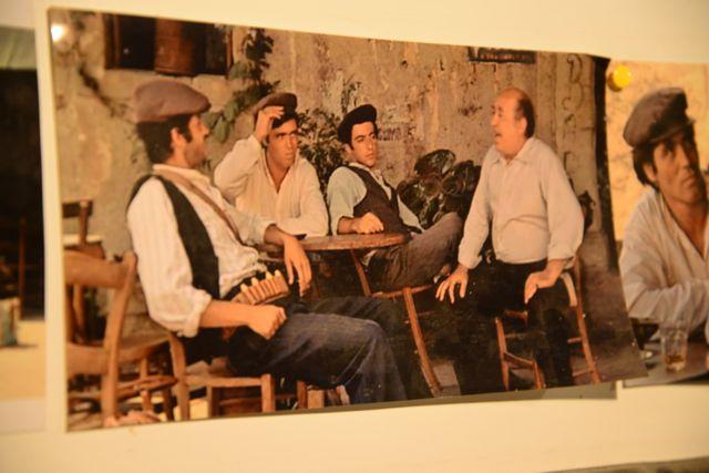 A cena do filme O Poderoso Chefão, onde Michael Corleone encontra o pai de Apolônia