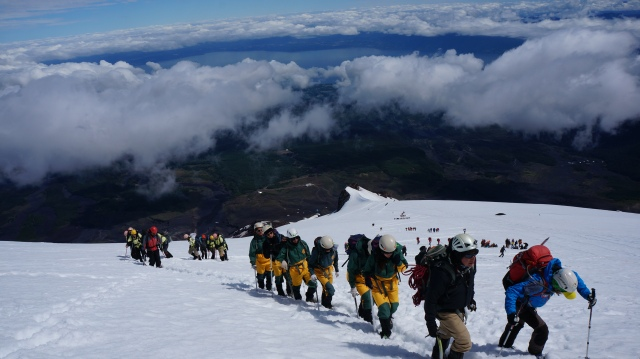 Subindo o Villarrica