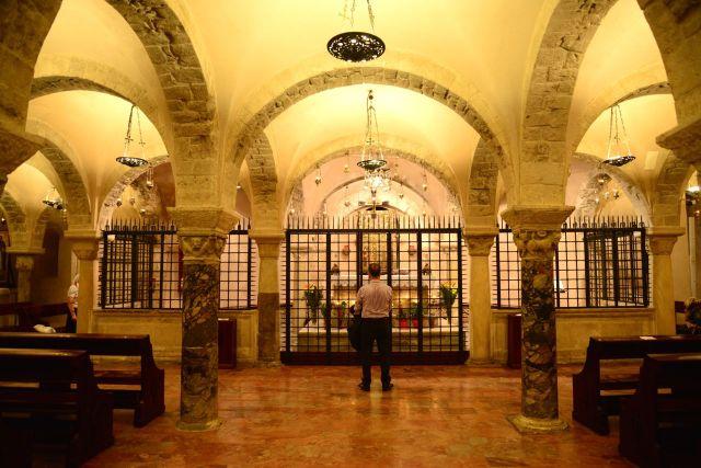 As relíquias de São Nicolau.