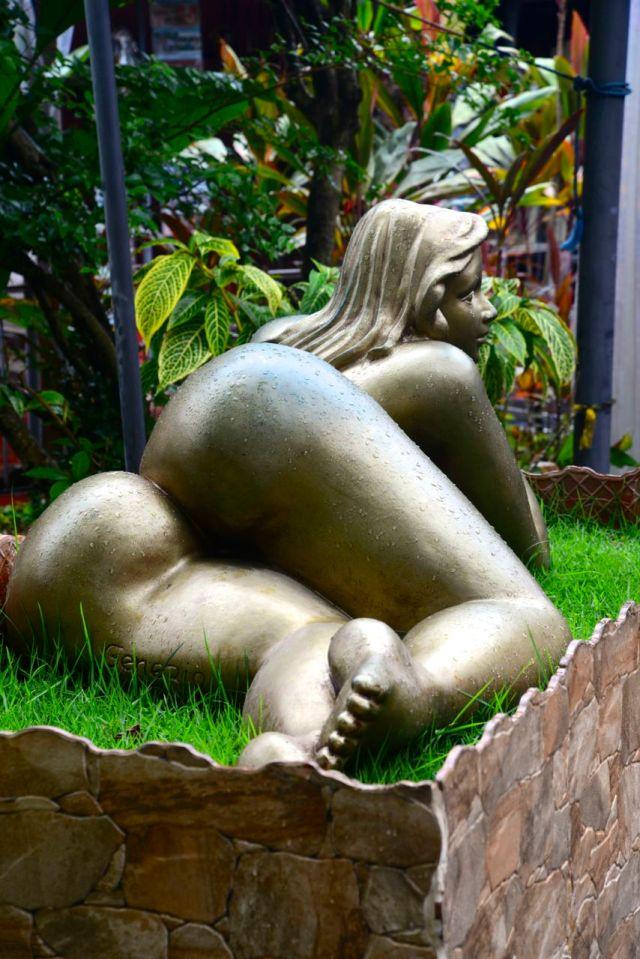 Escultura em Olinda.