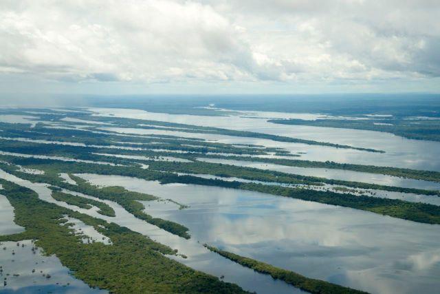 O Arquipélago das Anavilhanas.