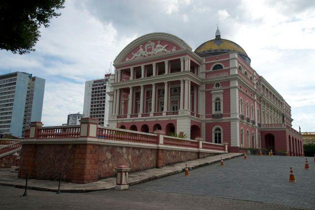 O Teatro de Manaus