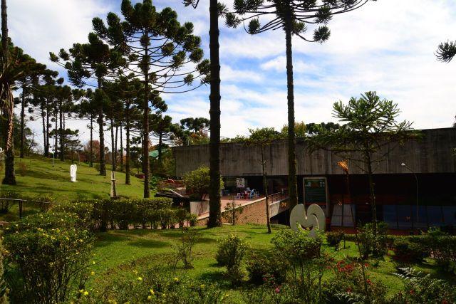 Área externa do Auditório.