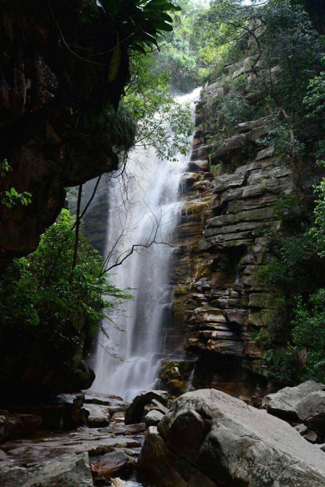 A Cachoeira do Mosquito.