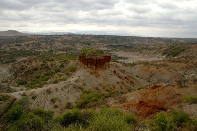 A Garganta do Oduvai, na Tanzânia.