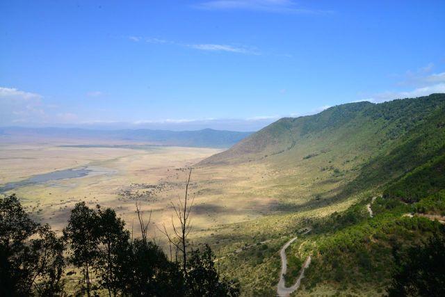 A Cratera do Ngorongoro é uma das principais atrações da Tanzânia.