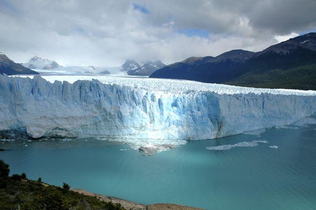 O glaciar Perito Moreno na Argentina era um dos lugares programados para conhecer um dia.