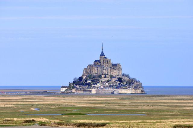 O Monte Saint-Michel. Outro local sempre desejado.