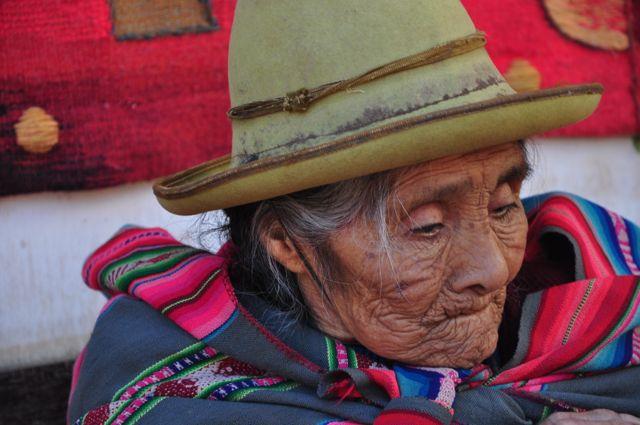 Mulher inca no Peru