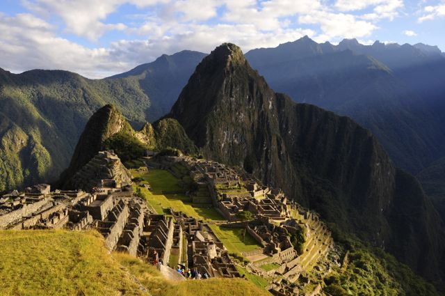 """A """"Cidade Perdida"""" de Machu Picchu, no Peru."""