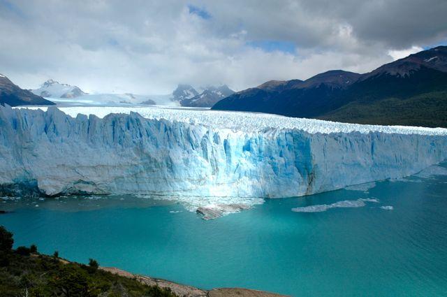 O Glaciar Perito Moreno