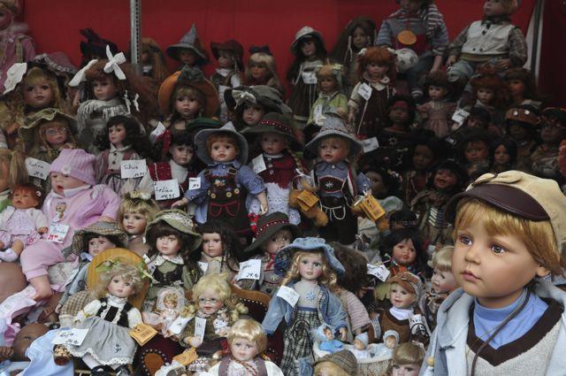 Os bonecos de Nuremberg.