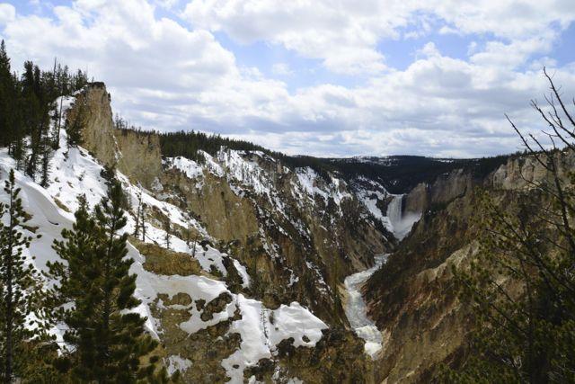 O Parque Nacional Yellowstone.