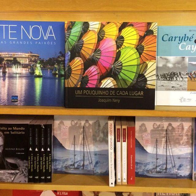 Um Pouquinho de Cada Lugar, também pode ser adquirido na livraria do Aeroporto de Salvador.