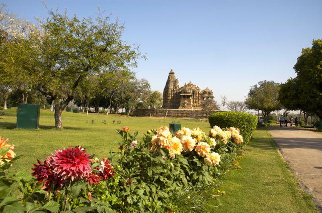 Templo em Kajuraho.