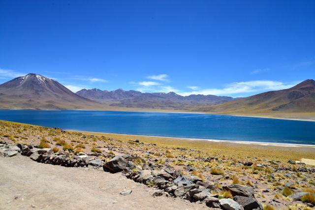 A Cordilheira dos Andes está ao lado do Deserto do Atacama.
