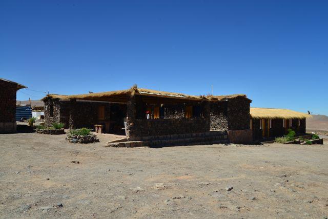 Socaire, no meio do Deserto do Atacama.