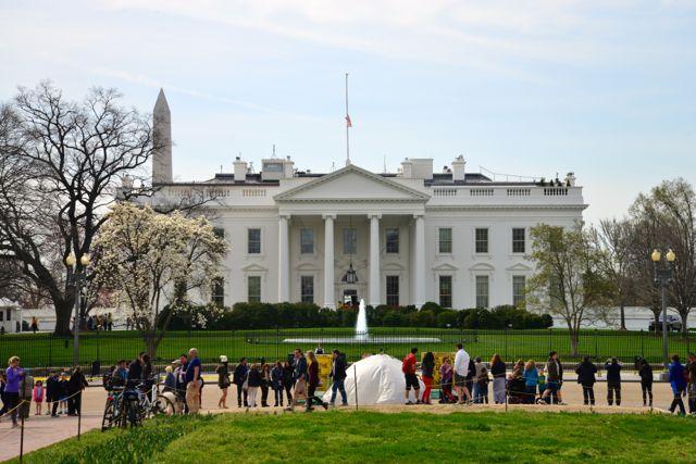 A Casa Branca.