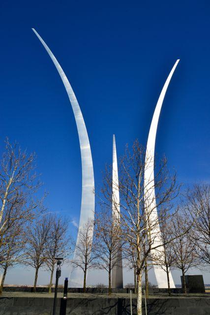 O Memorial da Força Aérea Americana