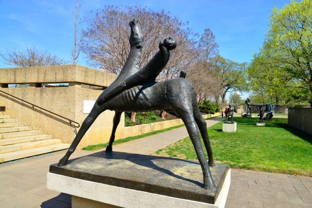 O Parque das Esculturas do Hirshhorn Museum