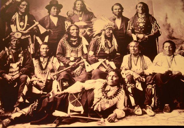 Fotos históricas no Museu Nacional dos Índios Americanos