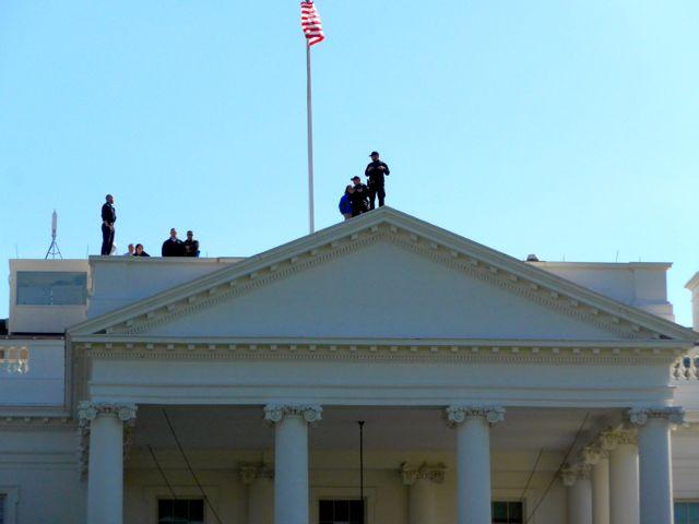 Segurança reforçada na Casa Branca