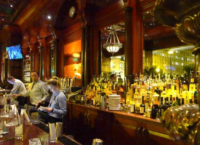 A casa de jazz The Hamilton.