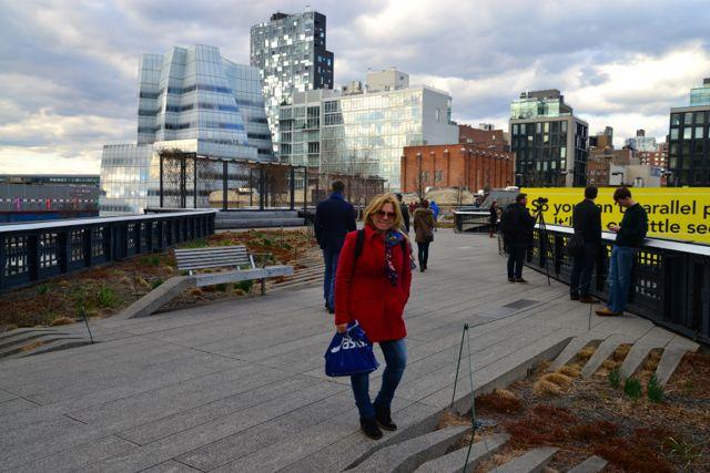 O High Line é mais uma opção para quem visita Nova York