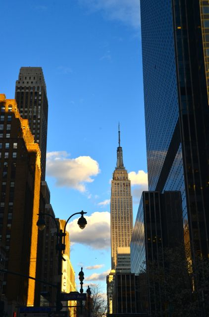 Caminhar pelas ruas de Manhattan é uma delícia.