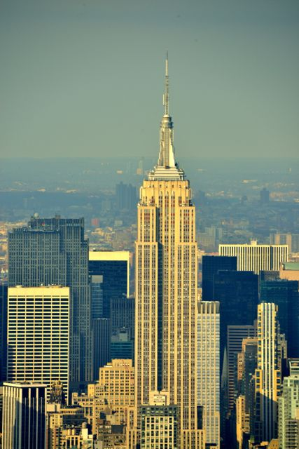 O Empire State Building, um dos símbolos de Nova York