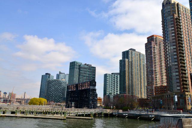 A área urbana moderna de Long Island City