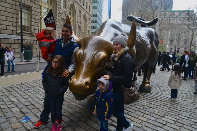 O Charging Bull