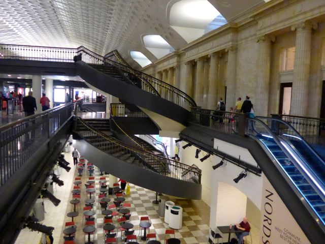 Interior da Union Station.