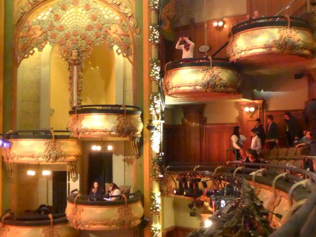 Balcões Teatro Amsterdam