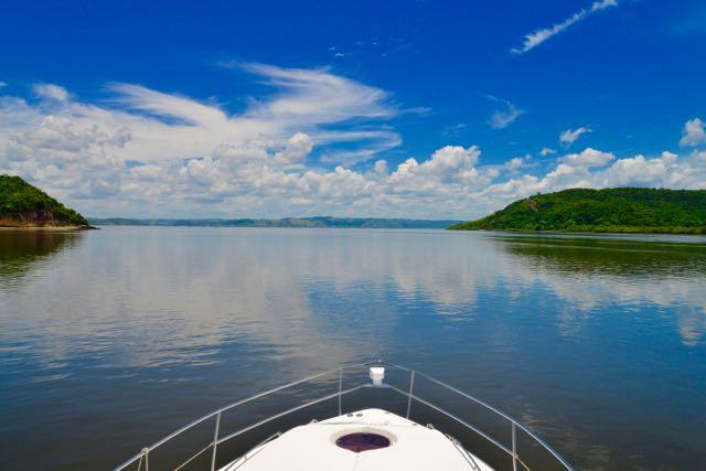 A barra do Rio Paraguaçu