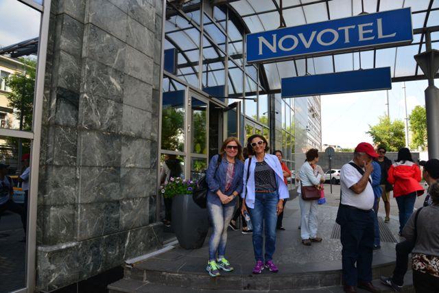 O Novohotel Centre, no centro de Moscou.