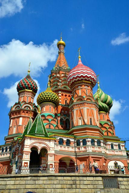 A belíssima Catedral de São Basílio
