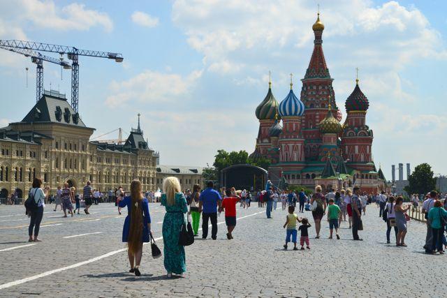 A linda Praça Vermelha